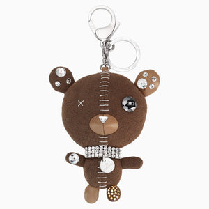 ARNOLD:BAG CHARM BROWN/STS
