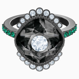 BLACK BAROQUE:RING SML DMUL/RUS 52
