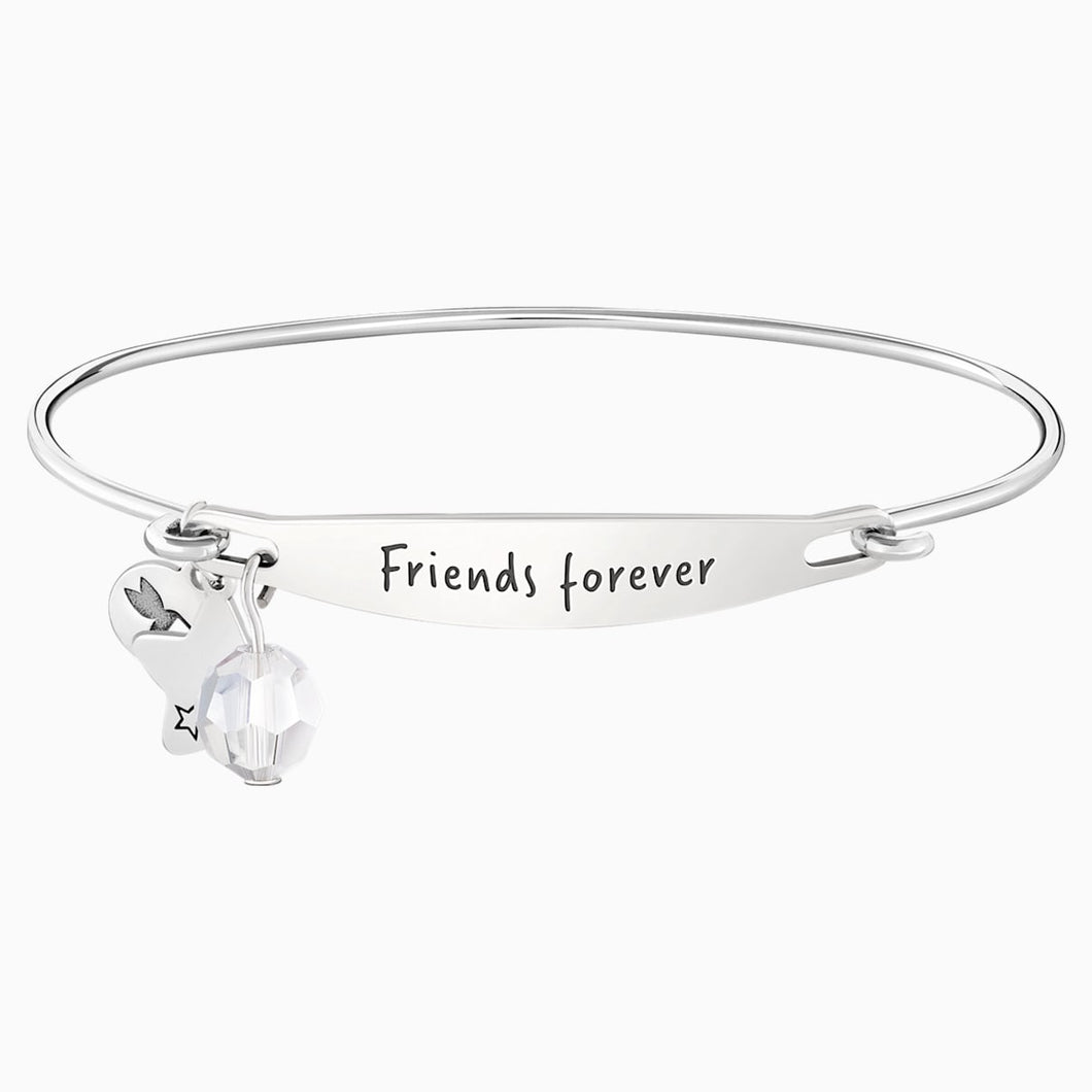 FRIENDS FOREVER ID BANGLE  M/L