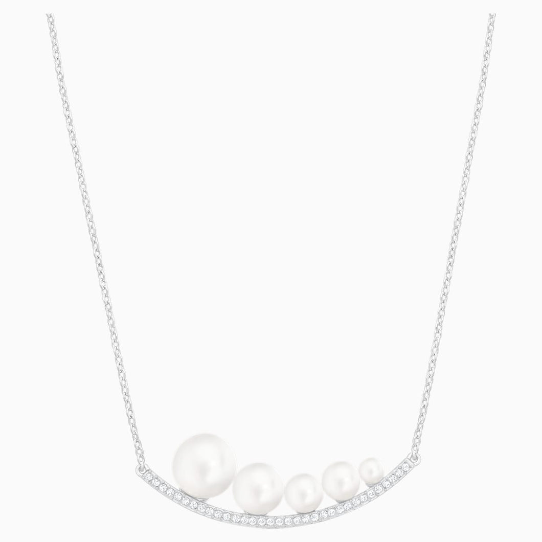 FUNDAMENTAL:NECKLACE CRYWHITE/RHS