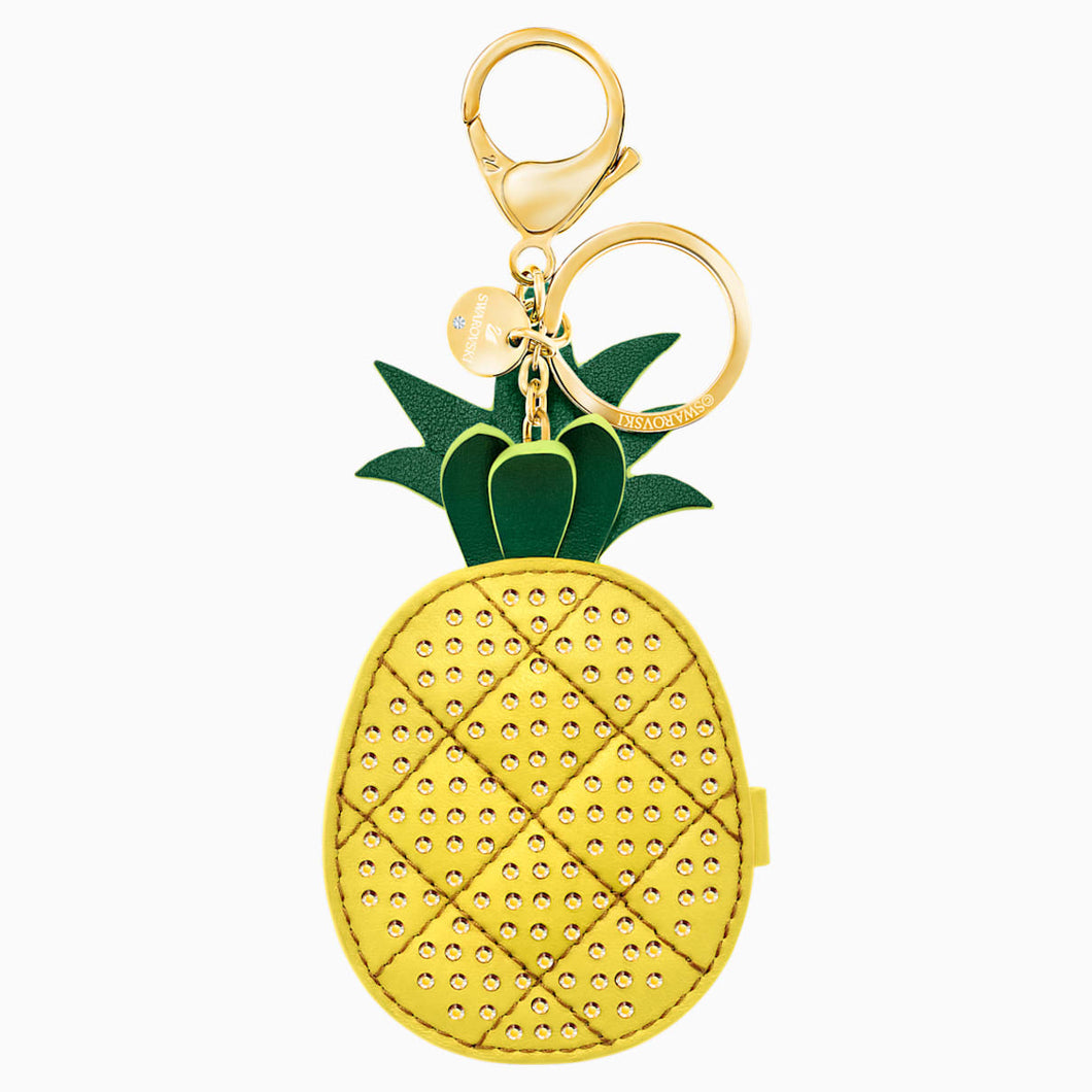 LIME W MIRROR:BAG CHARM YELLOW/STS PGO