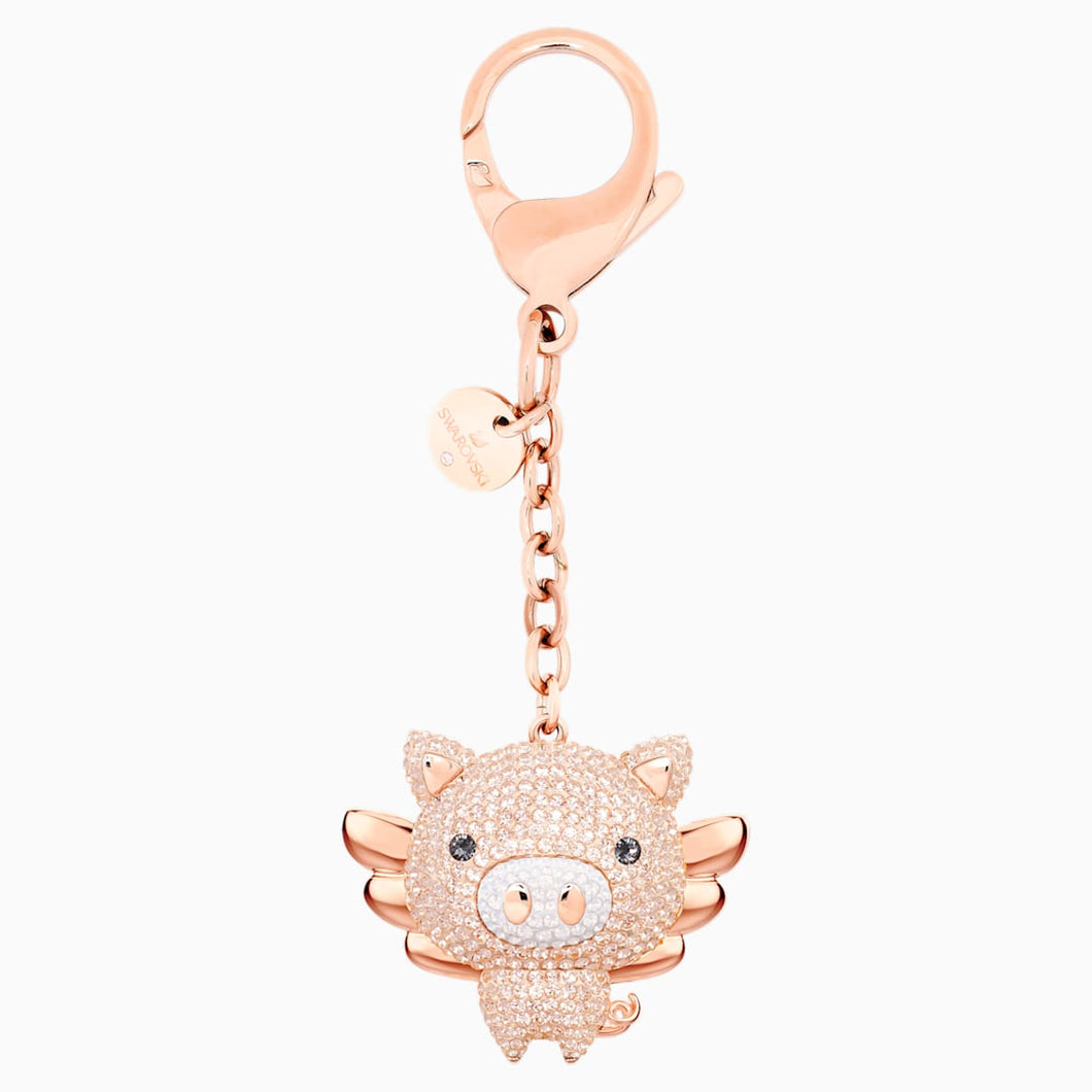 LITTLE:BAG CHARM PINK/STS PRO
