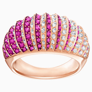 LUXURY:RING DOMED FUCH/CRY/ROS 58