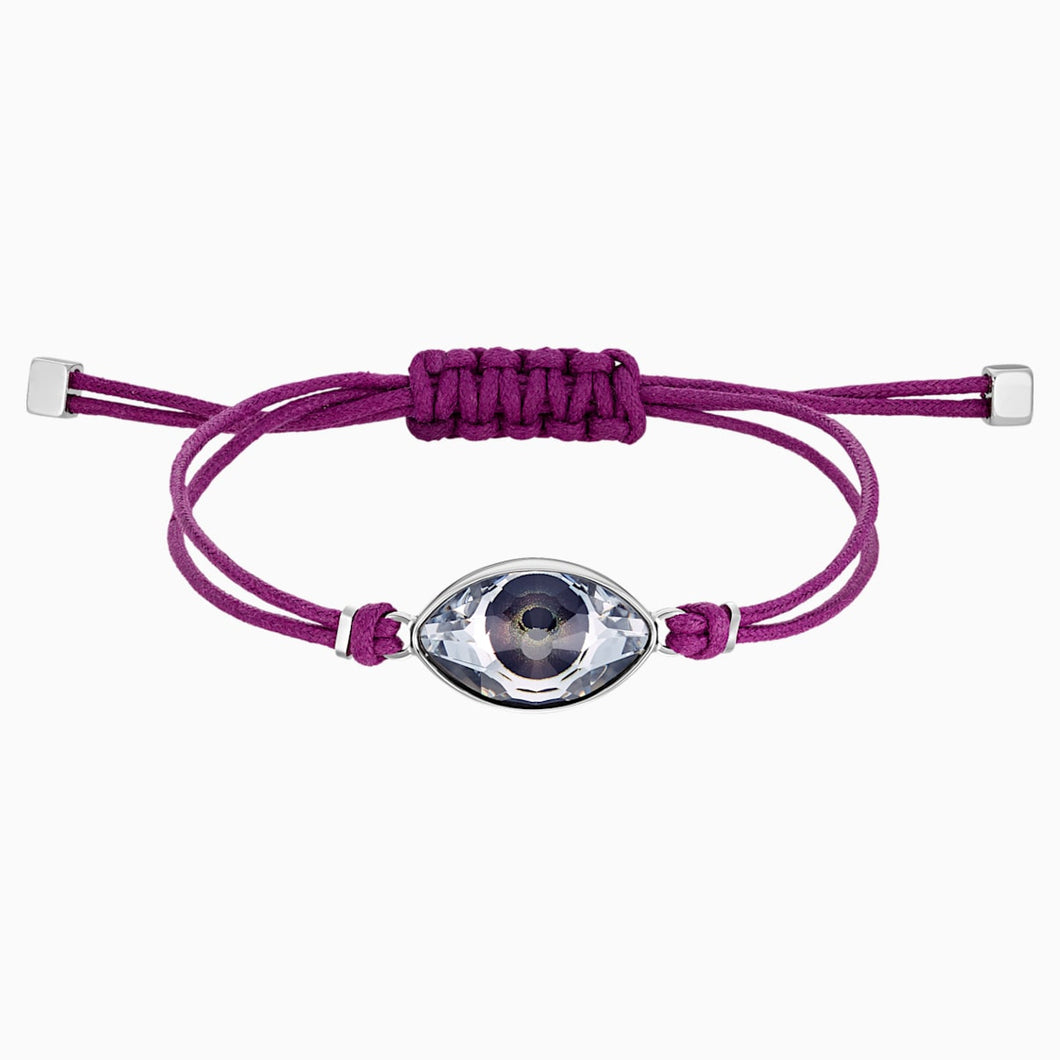 SWAPOWER:BRACELET EVIL EYE CRY/STS P M