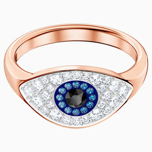 SWA SYMBOL:RING EVIL EYE DMUL/ROS 52