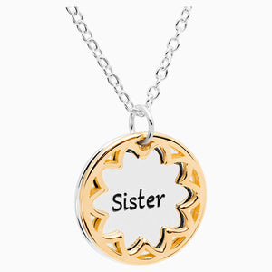 TREASURE NECKLACE, SISTER