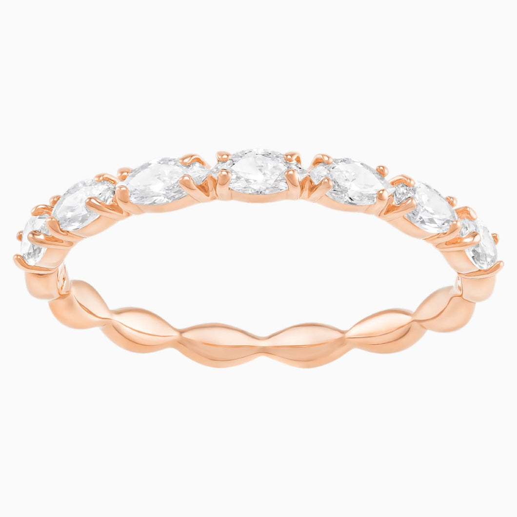 VITTORE:RING MARQUISE CZWH/ROS 50