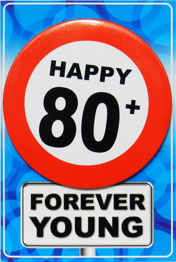 Chapa Forever Young - Happy + 80 - Gormand