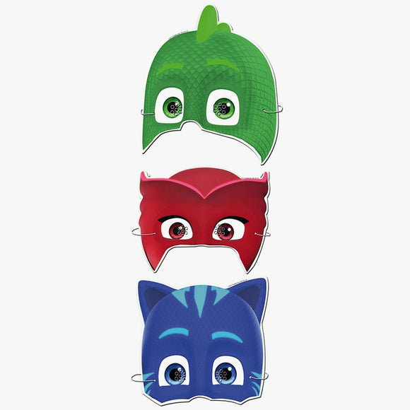 6 Mascaretas PJMASKS