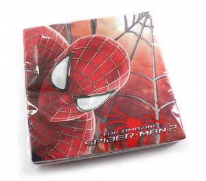 20 Servilletas Spiderman