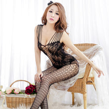 Load image into Gallery viewer, Women Sexy Lingerie Hot Open Crotch Underwear Sex Costumes Mesh Fishnet Products Body Suit Erotic Exotic Apparel 25