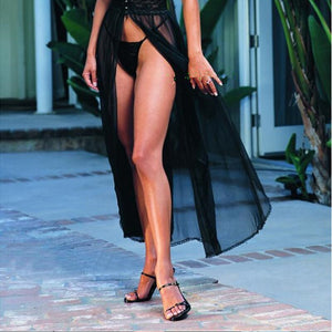 2016 New Women Sexy Lingerie Hot Long Black Veil Lingerie Lenceria Sexy Baby doll Dress Erotic Costumes Exotic Apparel 45