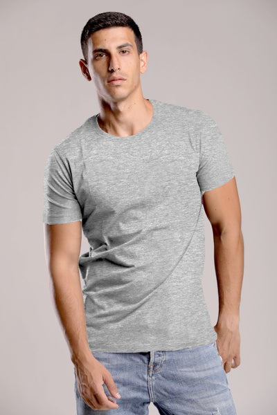Light Gray Basic T-shirt