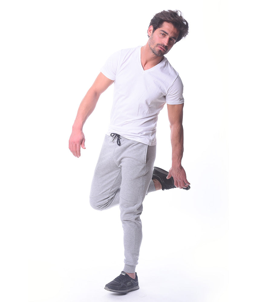 Basic Light Grey Sweatpants