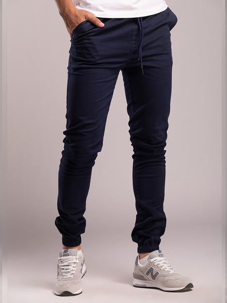 Slimfit-Navy-Pants