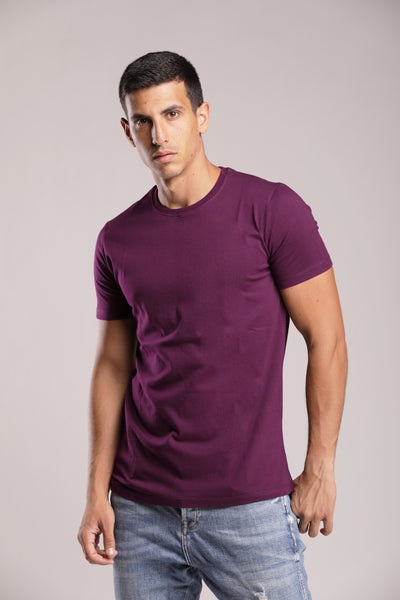Purple Basic T-shirt
