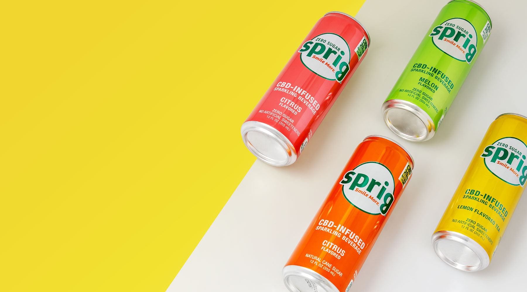 Sprig CBD Infused Drinks Beverages Sodas