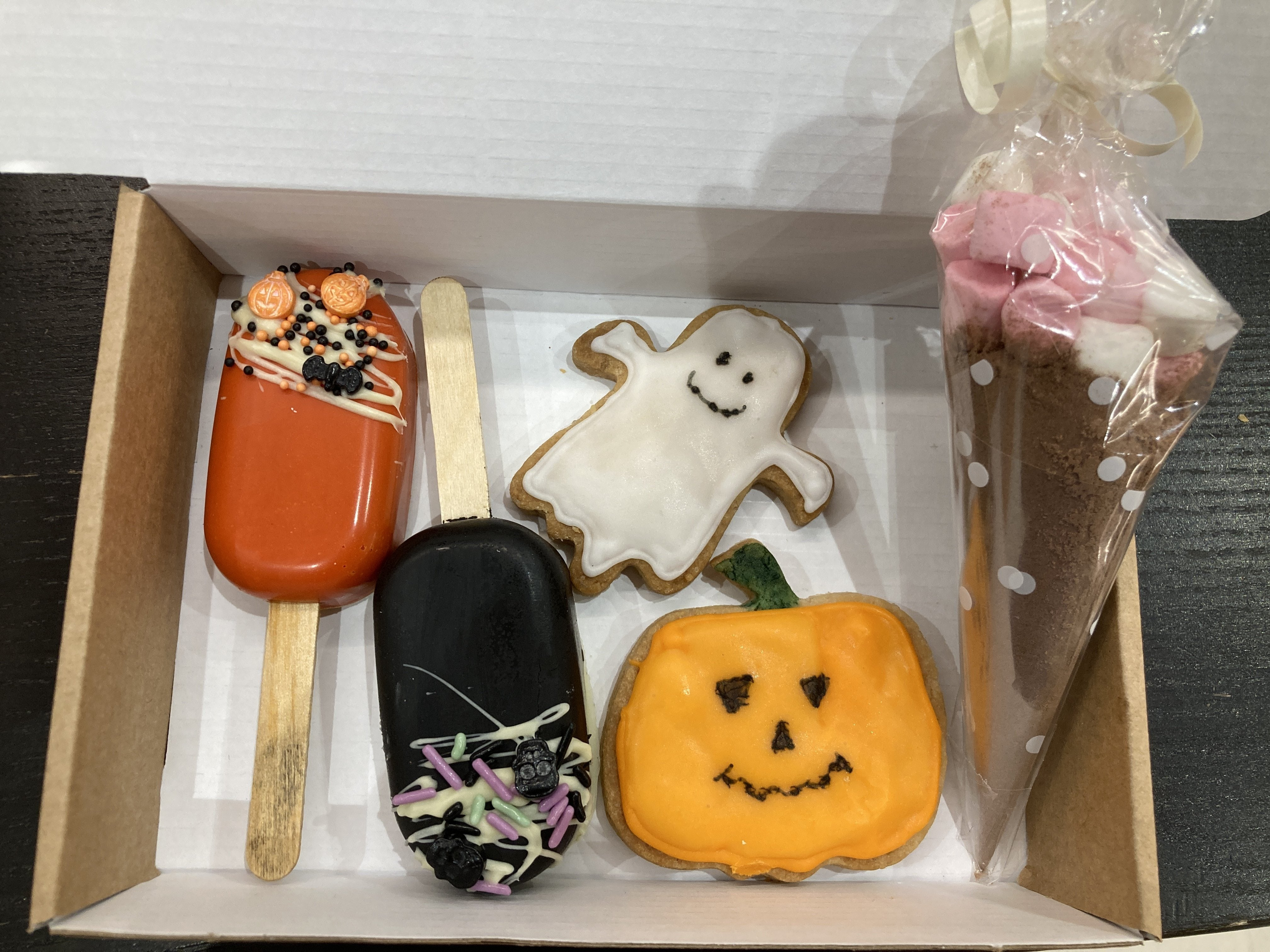 Post-able Halloween Treat boxes