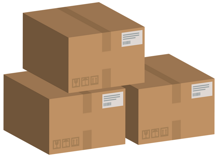 packages products warehouse for amaon fba
