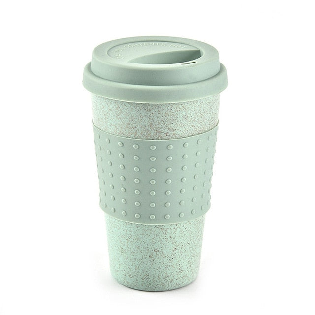 Biodegradable Wheat Straw Reusable Mug