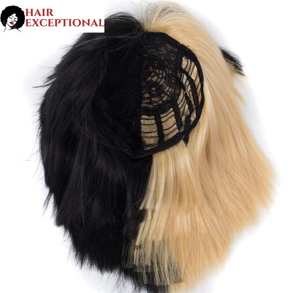Sia: 10-12'' Synthetic Hair - Short and Straight WIG