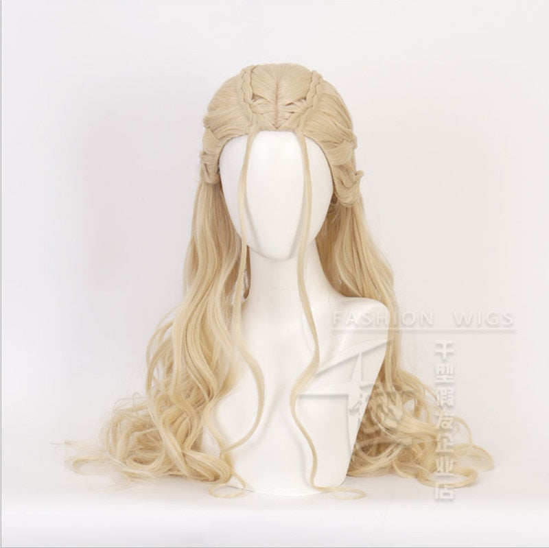 Khaleesi: Synthetic Hair, Heat Resistant  LACE FRONT WIG
