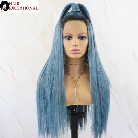 Jenna: 20-24'' Synthetic Hair - Straight, 13x6 LACE FRONT WIG