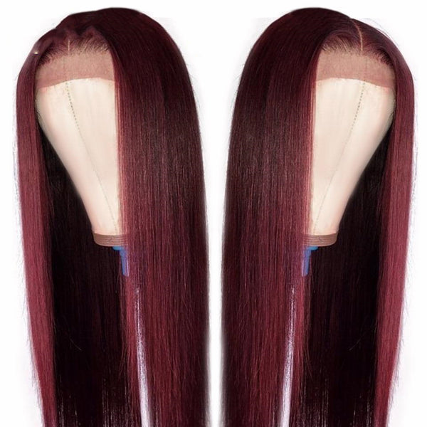 Joanne: Brazilian Hair - 13x5 Straight, 4x4 LACE CLOSURE WIG
