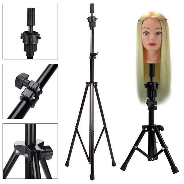 Hairpiece Essentials: Doll Head Holder Tripod