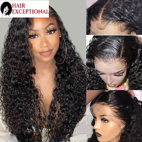 Latika: 8-30'' Indian Hair - 13X4, Water Wave, 150% Pre Plucked LACE CLOSURE WIG