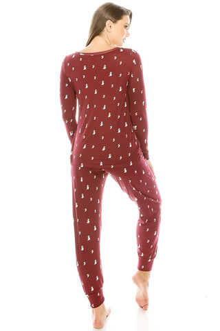 Ensemble pyjama en flanelle 2 pieces 53229. Disponible sur RACKI.FR, FRANCE.
