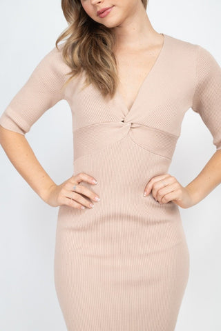 Robe en tricot torsade 53498b. Disponible sur RACKI.FR, FRANCE.