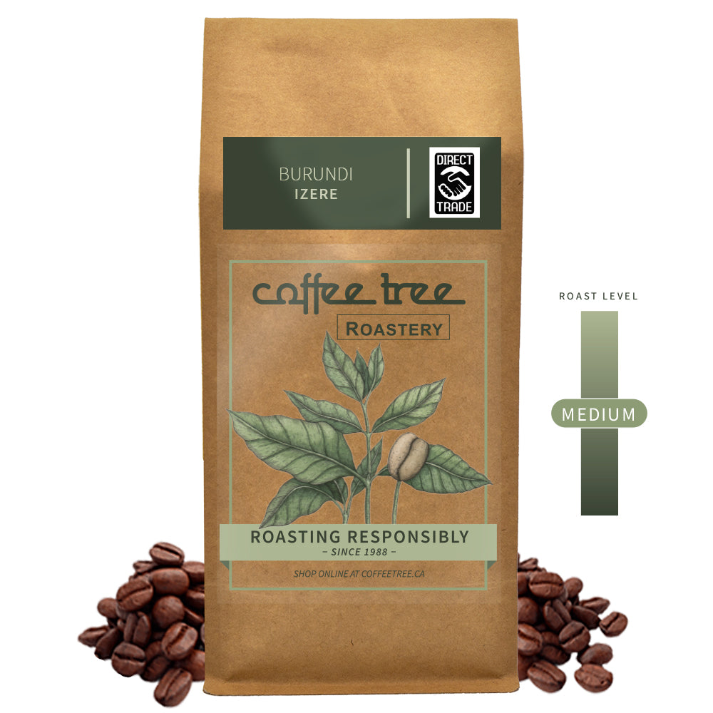 Coffee Tree Roastery Bag of Burundi Izere coffee beans