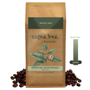 Coffee Tree Roastery Bag of Mocha Java coffee beans