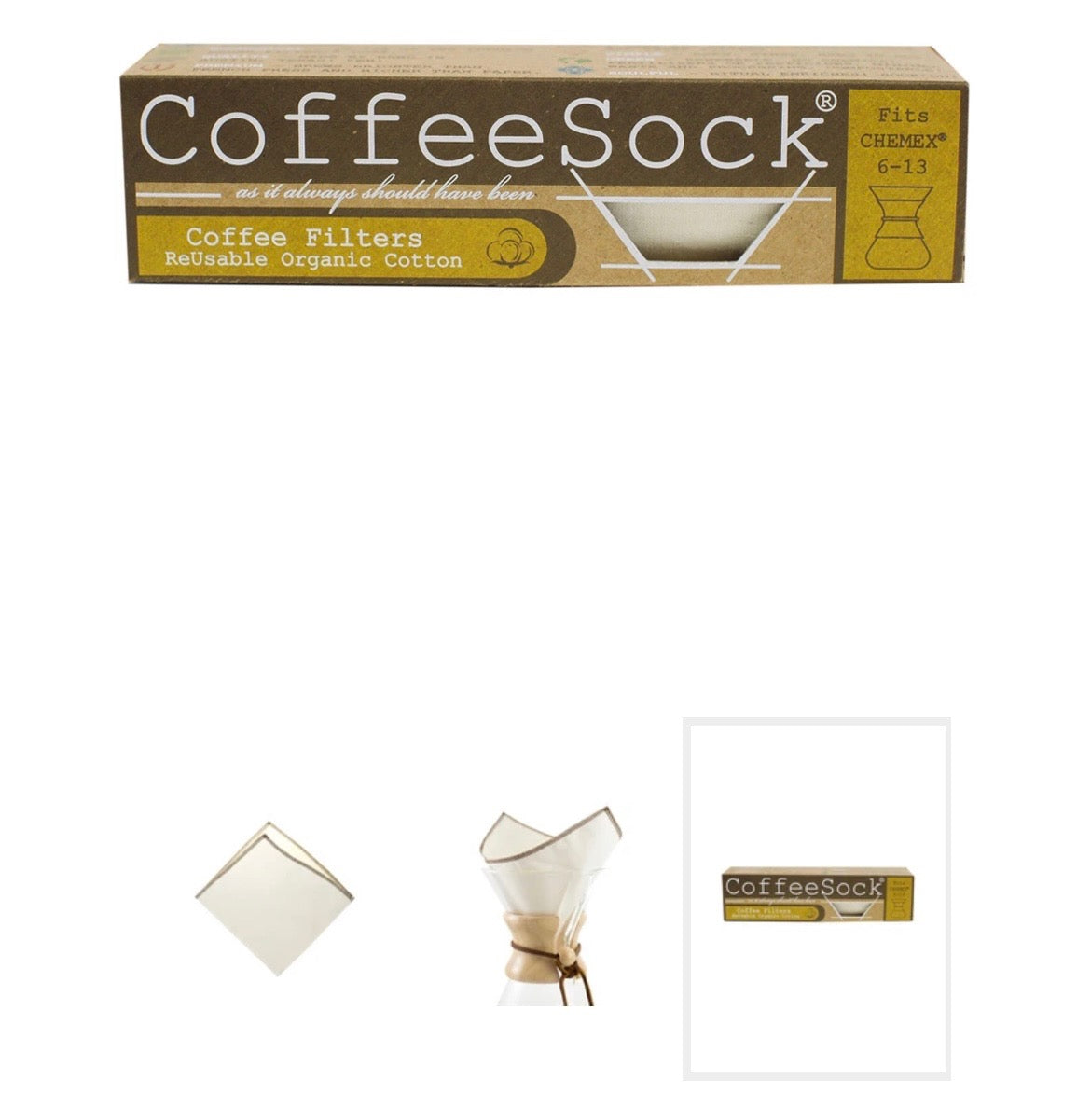 Coffee Sock Reusable Filter