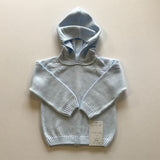 2393 - Zip Back Hoodie with Raglan Sleeve