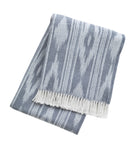 "351 - Ikat Throw with Stripes: 55"" x 70"""