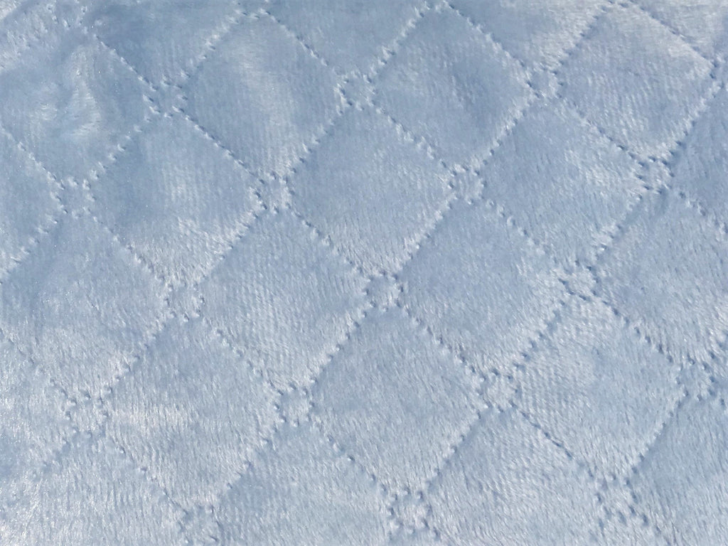 "724 - Nanas Single Face Quilted Plush Baby Blanket - 30""x40"""