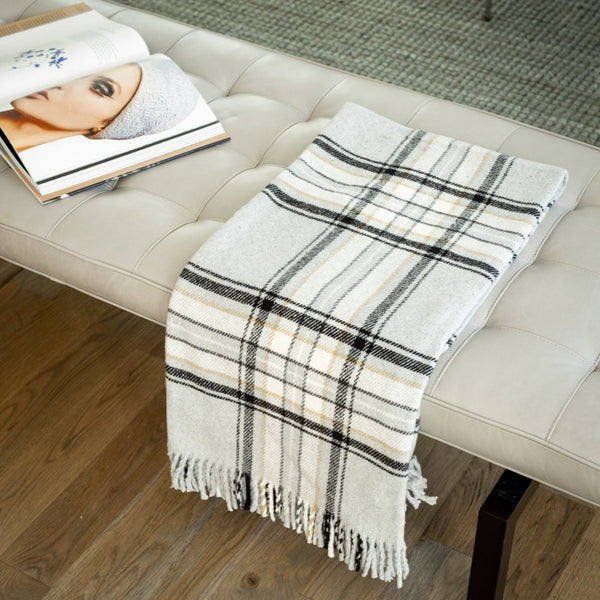 70% Recycled Cotton | 30% Polyester  In the spirit of sustainability and with the desire to protect our natural resources, we are proud to offer an array of durable, cotton blend throws made from recycled cotton and other fibers.