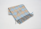 401 Receiving & Crib - Plaid with Fringe