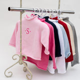 This year round cotton sweater is versatile in all temperatures. The wide range of sizes are great for siblings. Add a monogram for some personalization. Great for family photos! •100% Cotton •Machine Washable •Made in USA •Add personalized text and or images for that special touch!By A Soft Idea