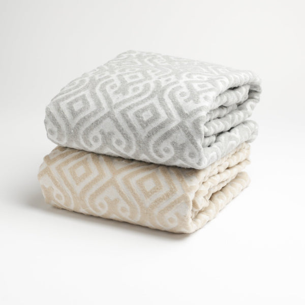 521 - Textured Damask Throw