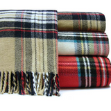"339 - Classic Tartan Plaid Throw - 55"" x 70"""