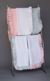 "6041 - Jersey Knitted Ruffle Blanket - 36""x36"""