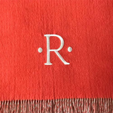 "2122 - 100% Baby Alpaca Throw with Fringe - 50"" x 78"" - Special Order"