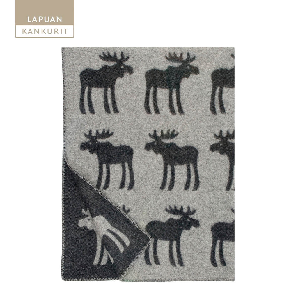 LAPUAN KANKURIT Hirvi Woollen Throw 130x180cm