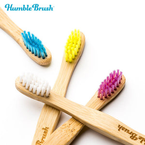HUMBLE BRUSH Bamboo Toothbrush Kids
