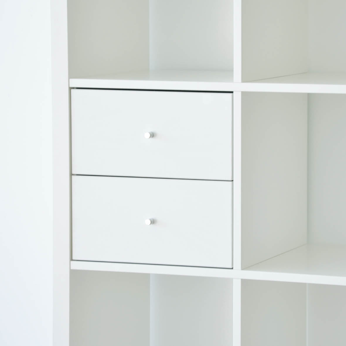 IKEA Kallax Insert with 2 Drawers, White