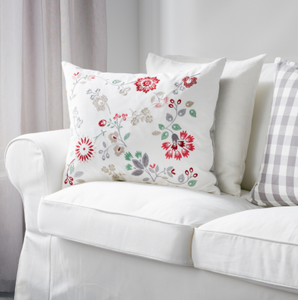 IKEA Hedblomster Floral Cushion 50x60