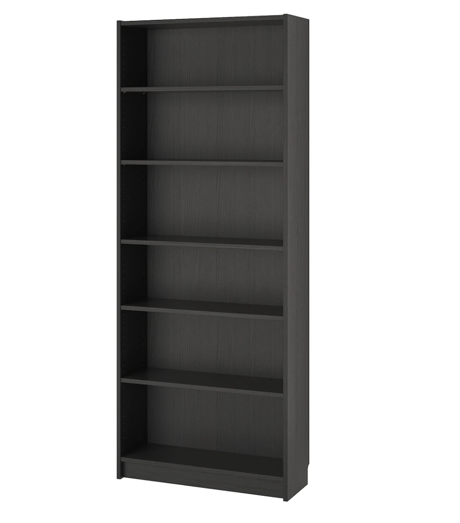 IKEA Billy Bookcase 80x28x202cm, Black/Brown